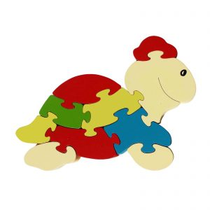 Large turtle wood animal puzzle